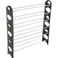 Everyday Home 6-Tier Stackable 24 Pair Capacity Shoe Rack