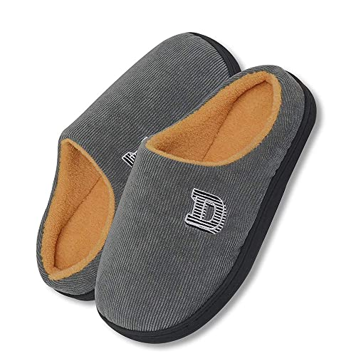 bfd46bd6 Zapatillas Casa Hombre Mujer¡Comodidad Resbalones en Memory Foam Hombre  Zapatillas de Espuma de Memoria【Note la selección de tamaño para la Tabla  de ...