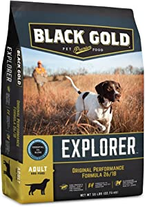 Black Gold Explorer Original Performance Recipe 26/18 Dry Dog Food, 50 lb