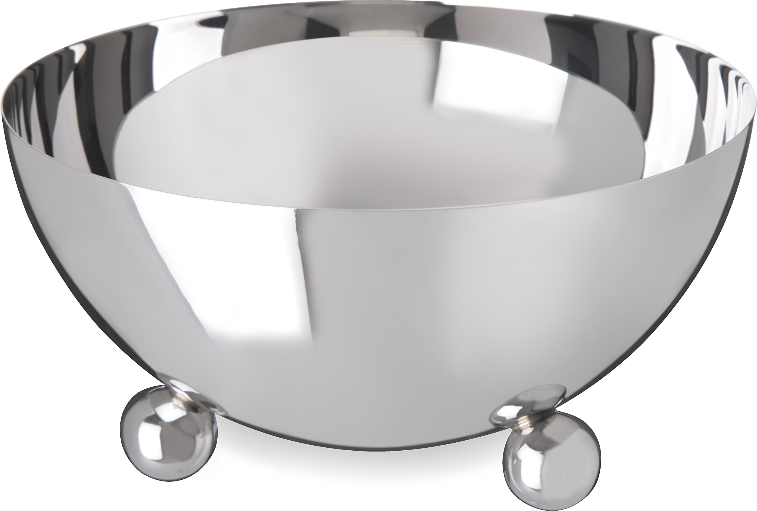 Carlisle 609173 Allegro Stainless Steel 18-10 Display Bowl, 48 fl. oz. Capacity, 7'' Dia. x 3-3/4'' H (Case of 3) by Carlisle