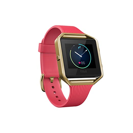 Fitbit Blaze Smart Fitness Watch Small, Pink and Gold