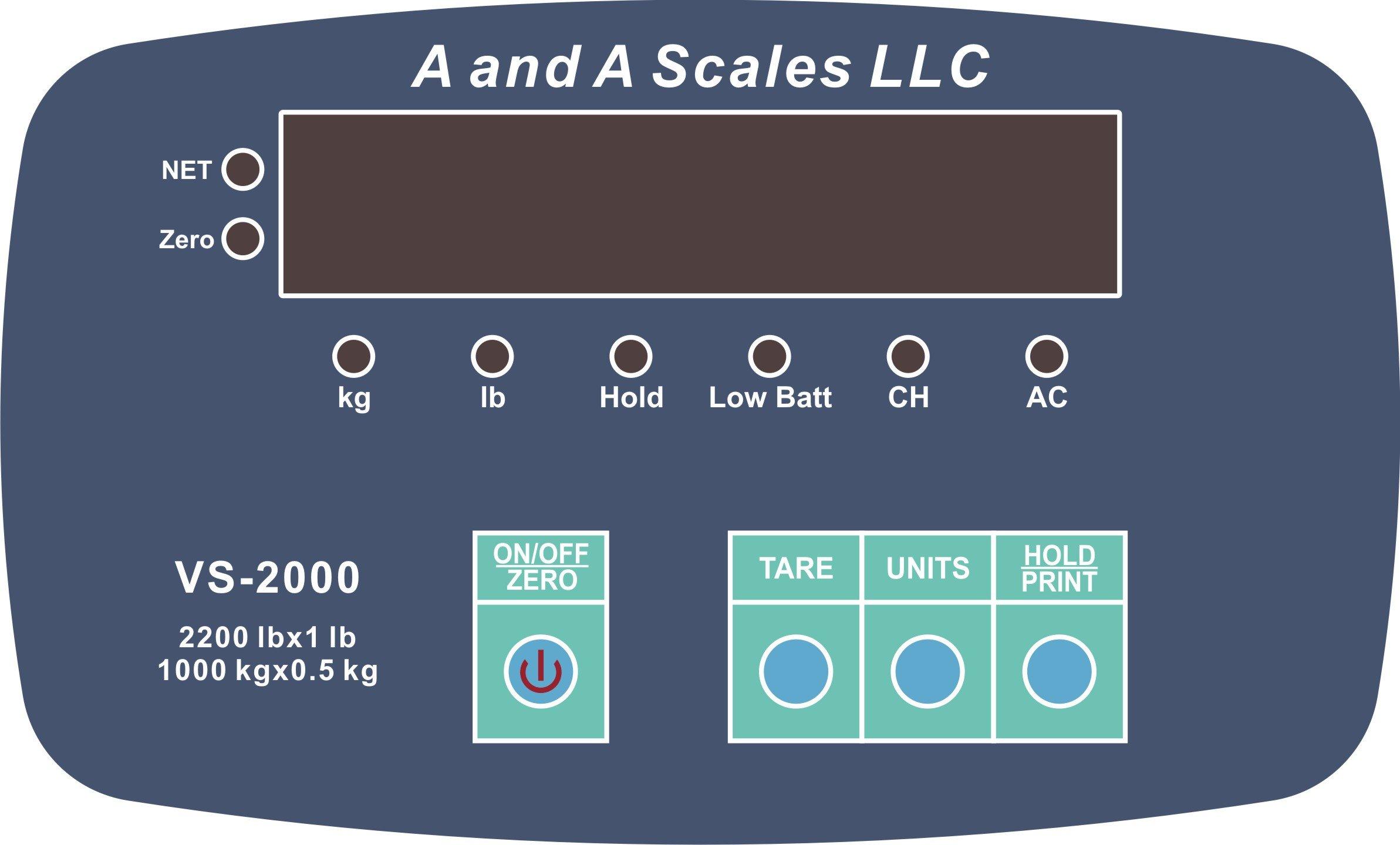 VS-2200 livestock cattle scale hog goat alleyway scale