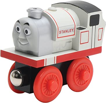 Stanley Toy Car The Tank Engine Wooden Magnet Connet Railway Train Toy Car Gift