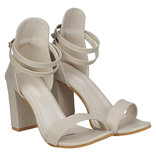 caee86f73ff MISTO VAGON Women s Suede and Synthetic Leather Block Heel Sandals with Double  Strap (36