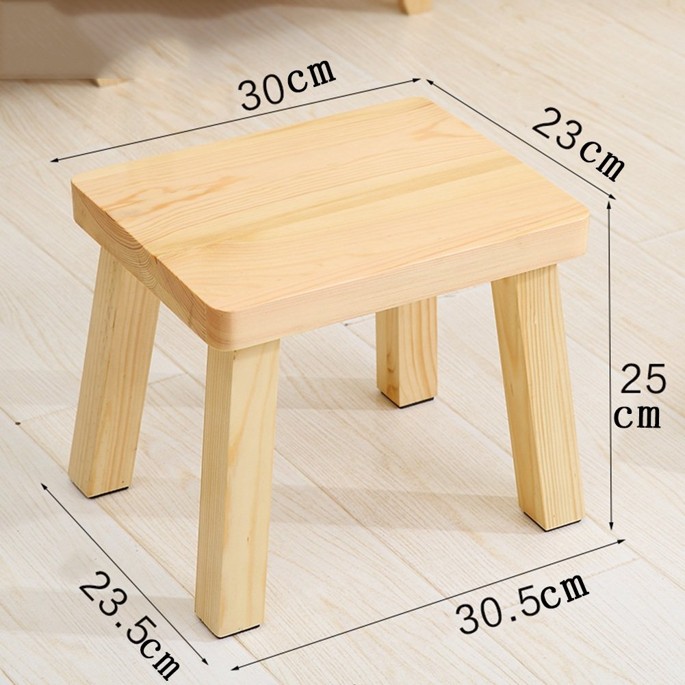 Cool Anti Humpback Stool Pine Stool Home Solid Wood Small Stool Alphanode Cool Chair Designs And Ideas Alphanodeonline