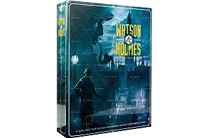 Asmodee Italia Watson & Holmes Table Game, Blue, SCWH01IT