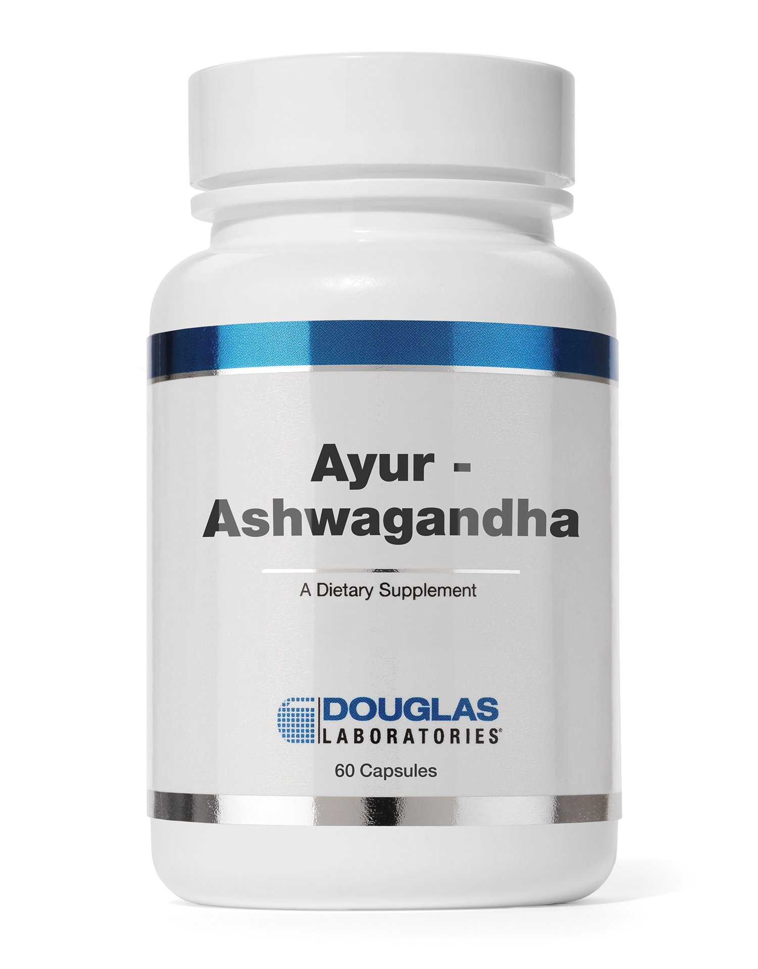 Douglas Laboratories Ayur-Ashwaganda (Indian Ginseng) - Ayurvedic Herb to Support Energy Production, Mental and Physical Performance* - 60 Capsules