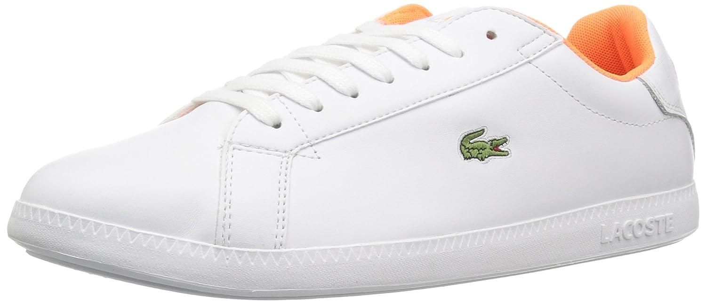 Lacoste Women's Graduate 118 1 SPW Sneaker B0721P88SL 7.5 B(M) US|White/White