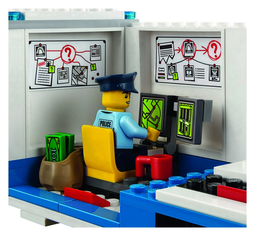 LEGO City Police Mobile Command Center 60139 Building Toy by LEGO (Image #3)