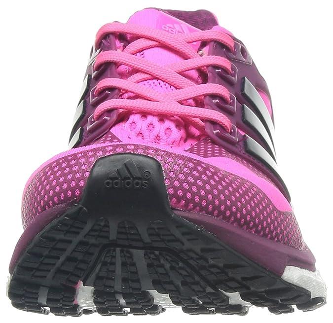 adidas Energy Boost 2 Esm W, Chaussures de running femme - Rose (Rossol/Noiess/Rotrbi), 39 1/3 EU