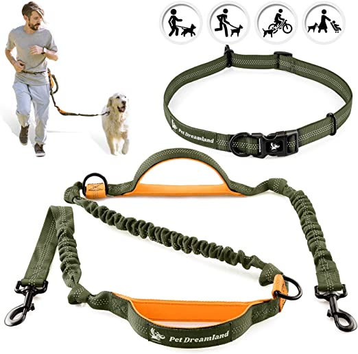 Pet Dreamland Hands Free Leash - For One/Two Medium to Large Dogs ...