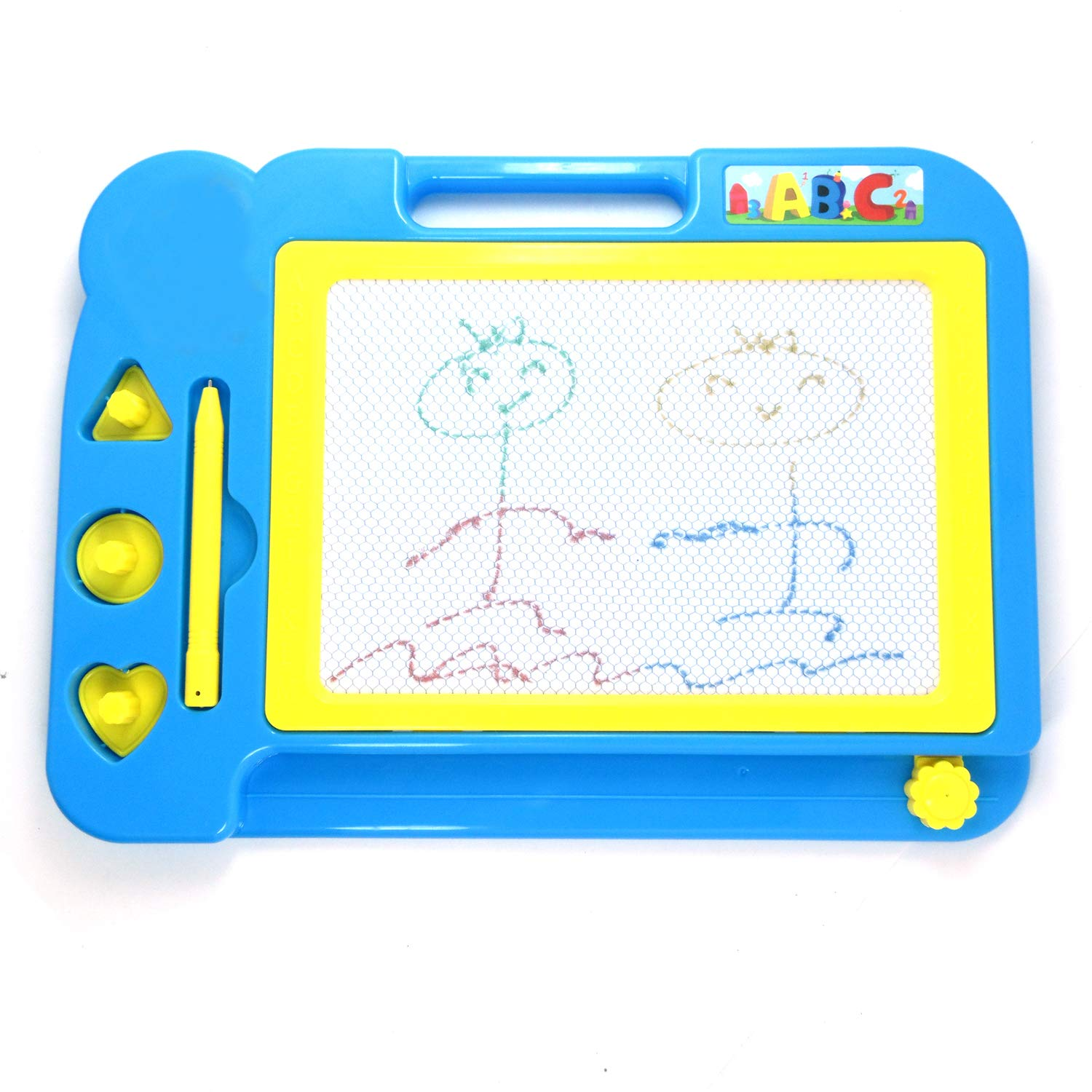 Xelue FF Magnetic Drawing Board Kids Doodle Erasable Writing Sketch Board Pad Style 1