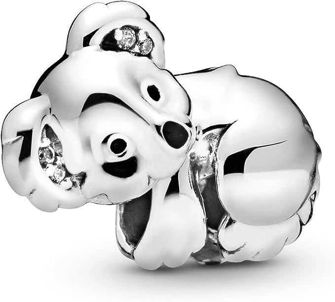 Pandora Jewelry Koala Cubic Zirconia Charm in Sterling Silver