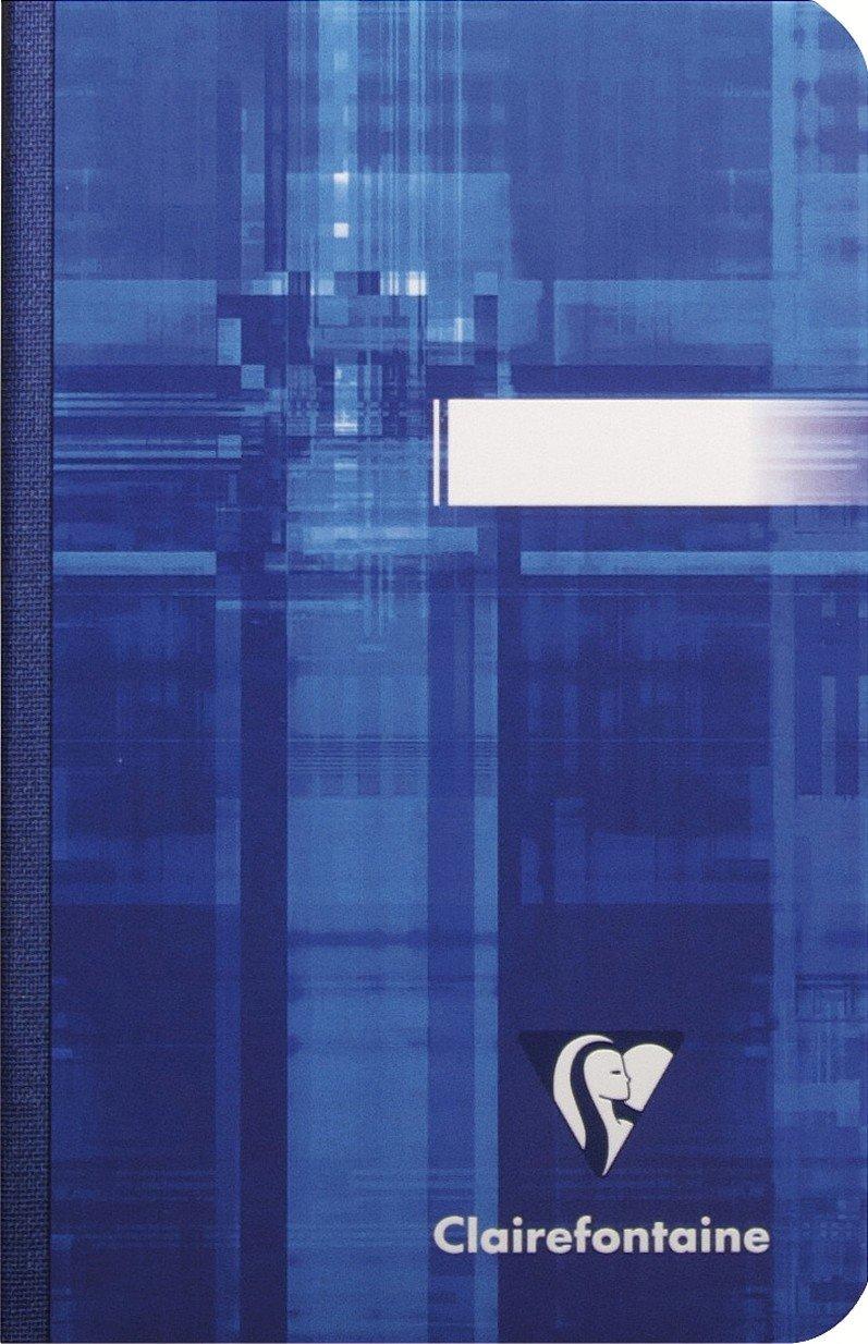 Clairefontaine 4743C Paquet de 100 pages copies doubles perforation universelle grands carreaux 90 g A4 Assortis