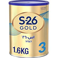 Wyeth S26 Progress Gold Stage 3, 1 3 Years Premium Milk Powder Tin for Toddlers, 1.6kg Promo Pack