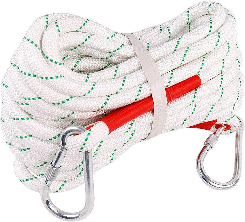 KTYXGKL Cuerda de Escalada Blanca Cuerda estática al Aire ...