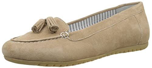 Hush Puppies Moon, Mocasines para Mujer: Amazon.es: Zapatos y complementos
