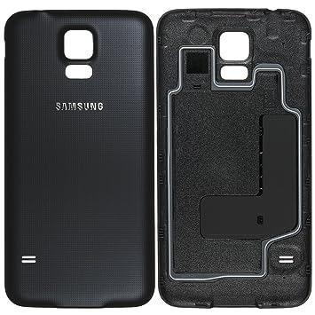 Original Samsung tapa trasera Negro / Para Samsung G903F ...