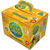 Bubble World Fun Bubble Bottles (12 Pack) Bubbles for Kids – Non-Toxic Bubbles with Built-In Wand for Mess-Free Play!