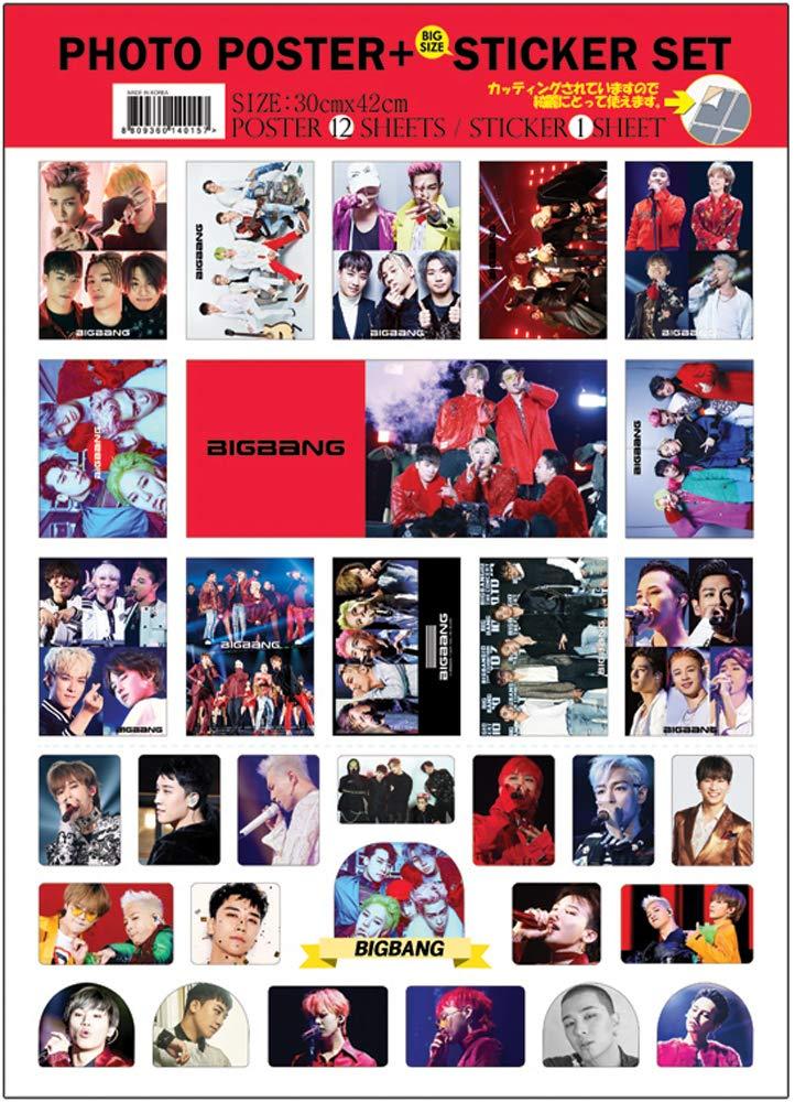 e 1 set di adesivi Bambini stray IDOLPARK Poster Kpop Set di 12