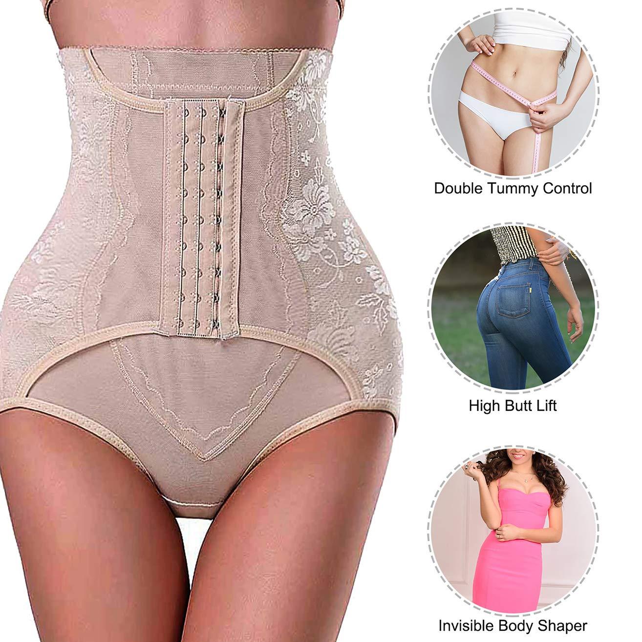ddee6fce82 Nebility Women Butt Lifter Shapewear Hi-Waist Tummy Control Body Shaper  Shorts Waist Trainer Panty