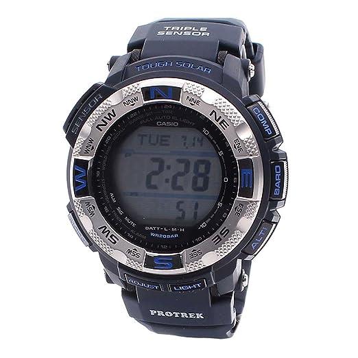 Casio PROTREK Tough Solar Casio De los Hombres Reloj PRG-260-2D: Amazon.es: Relojes
