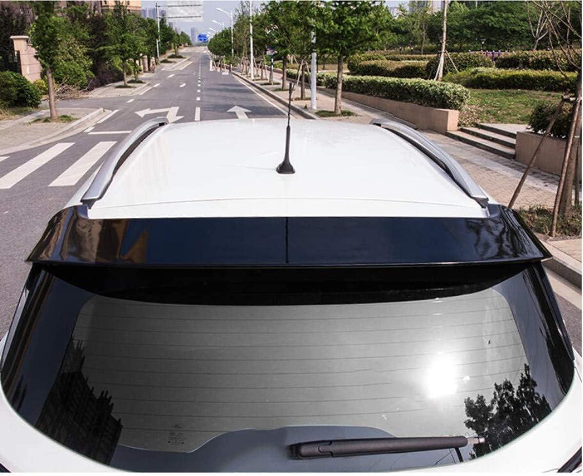 per Ford Escape Kuga 2018 2019 Spoiler Posteriore in ABS Spoiler A Labbro del Cofano del Bagagliaio Bianco Nero QMH Spoiler Posteriore