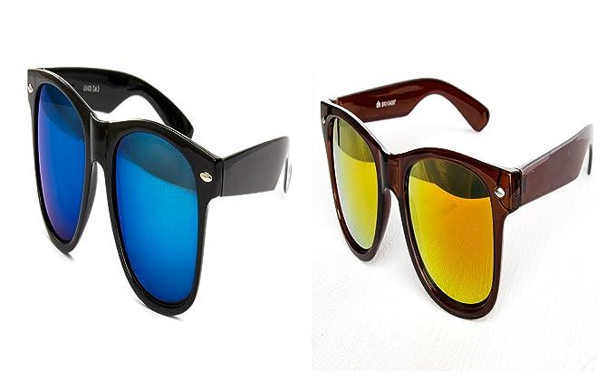 2 er Set Partybrille Sonnenbrille Brille Schwarz Matt Gummiert Sonnenbrillen Brillen iCwqf