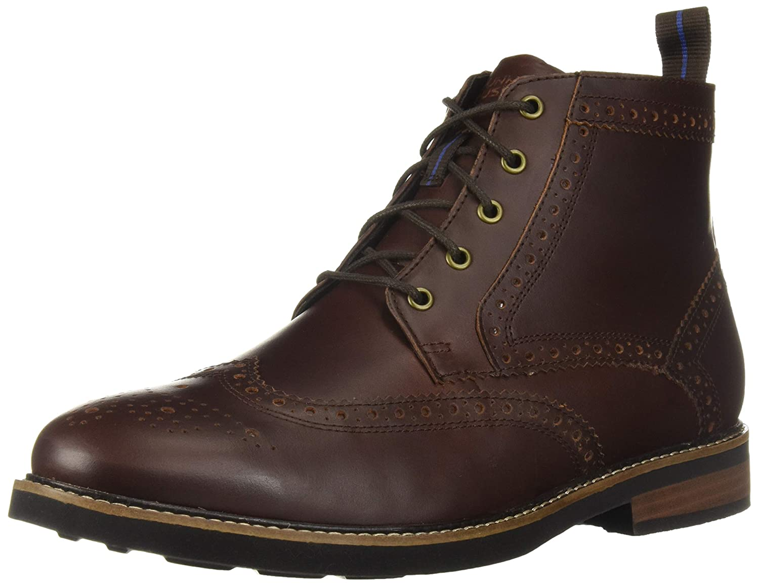 61c36ccda18 Nunn Bush Men's Odell Wingtip Boot with KORE Walking Comfort Technology