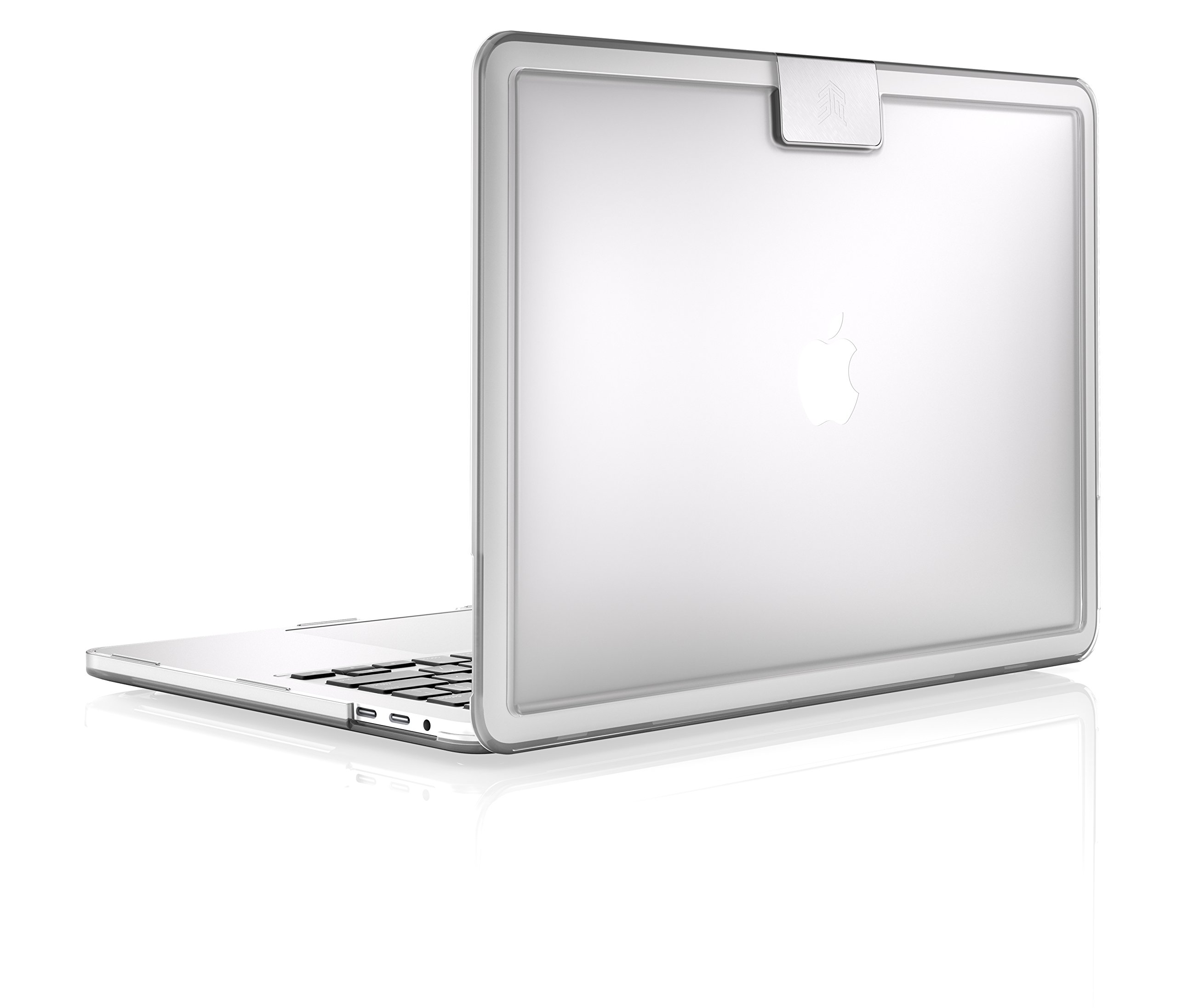 STM Hynt 13-Inch Slim Sturdy Sophisticated Case for MacBook Pro (2016 & 2017) - Clear (stm-122-154M-33) by STM (Image #1)