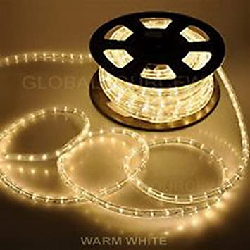 Incandescent - Warm White - Rope Light - 1/2 in. - 2 Wire & Amazon.com: Incandescent - Warm White - Rope Light - 1/2 in. - 2 ... azcodes.com