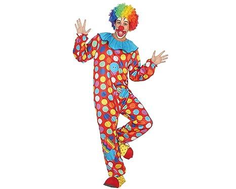 Amazon.com: Atosa 31549 – Clown Mens Costume, Size XS – 30 ...
