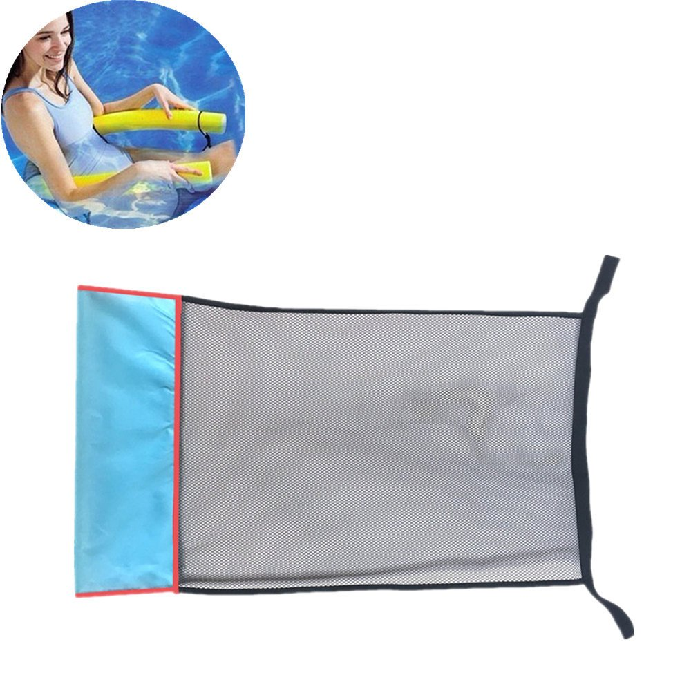 PIKAqiu33 2019 Floating Pool Noodle Mesh Chair Net for Swimming Seat Water Relaxation DIY Accessories(Noodle Not Included)