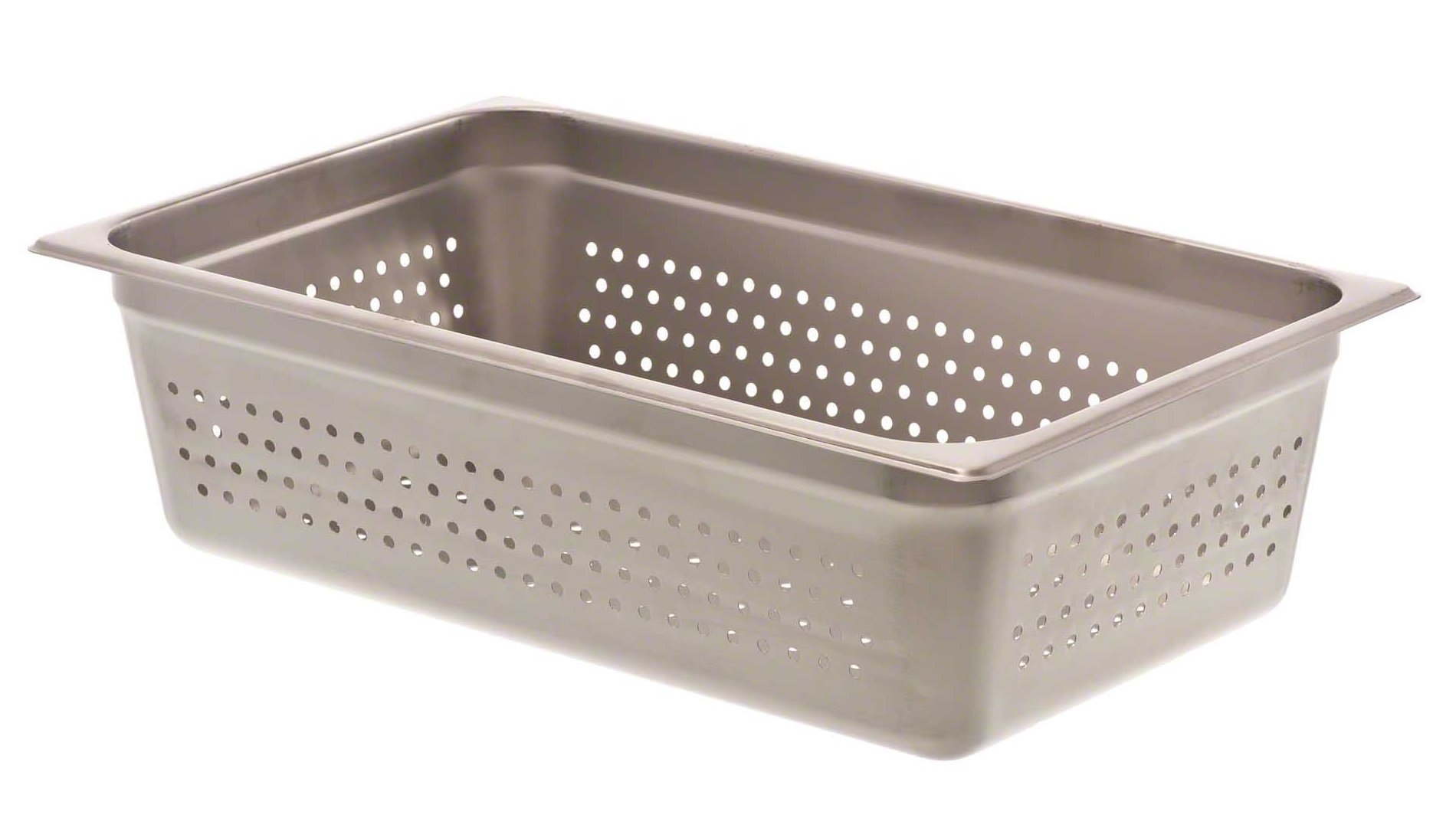 Browne (8006P) 6'' Full-Size Perforated Steam Table Pan