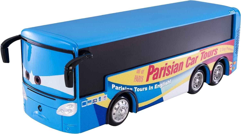 Amazon Com Disney Pixar Cars Oversized Paris Bus Vehicle Toys