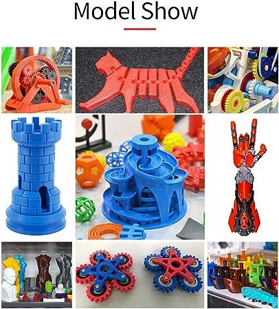 Aibecy Impresora 3D Anet ET4 Estructura de estructura metálica ...