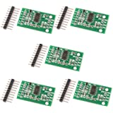 C.J. SHOP® 5PCS New Weighing Sensor AD Module Dual-channel 24-bit A/D Conversion HX711 Shieding