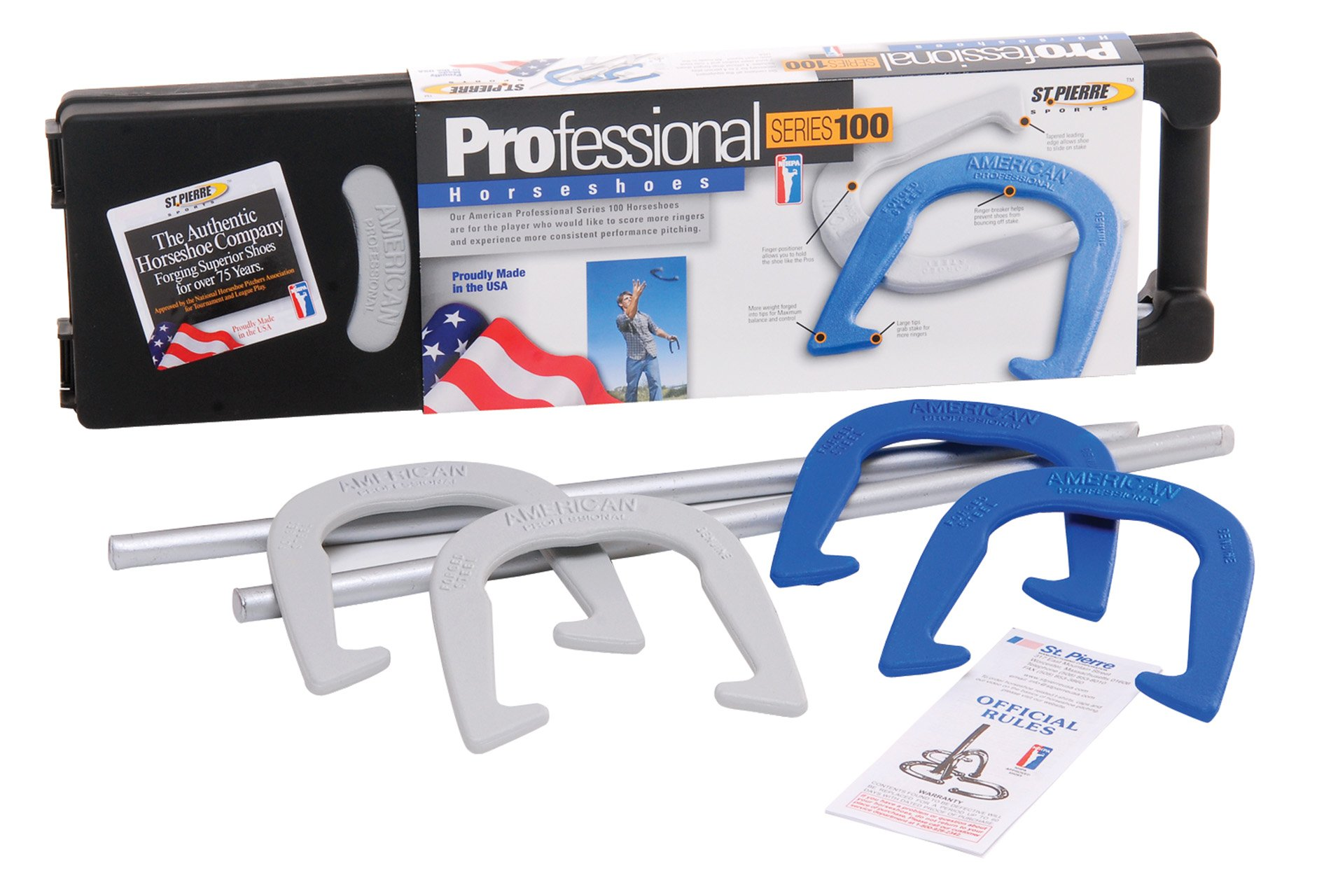 St. Pierre American Professional Horseshoes Set by St. Pierre