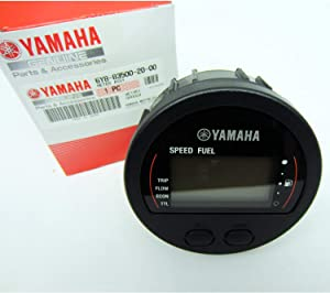 Yamaha 6Y8-83500-10-00 Speedometer and Fuel Management Meter, Round; New # 6Y8-83500-20-00 Made by Yamaha