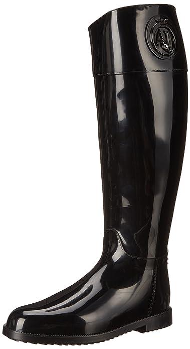 Armani Jeans Shoes   Bags DEB55K151 - Stivali in Gomma Non Imbottiti Donna 58198dcc0a8