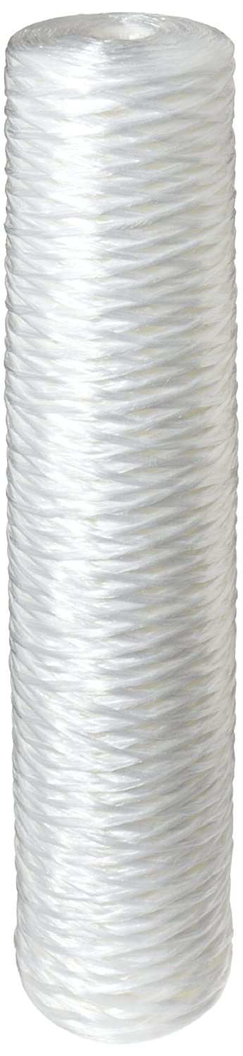 Pentek WPX100BB20P String Wound Polypropylene Filter Cartridge 20 x 4.5 100 Microns