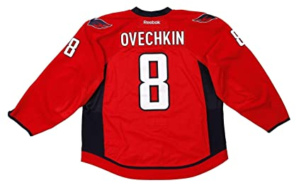 outlet store e5074 bd50e Alexander Ovechkin Game Worn/Used 2012 Capitals 10 Goals ...