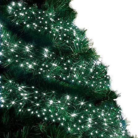 cluster lights 480 led bright white tree lights indoor and outdoor use christmas string lights 8