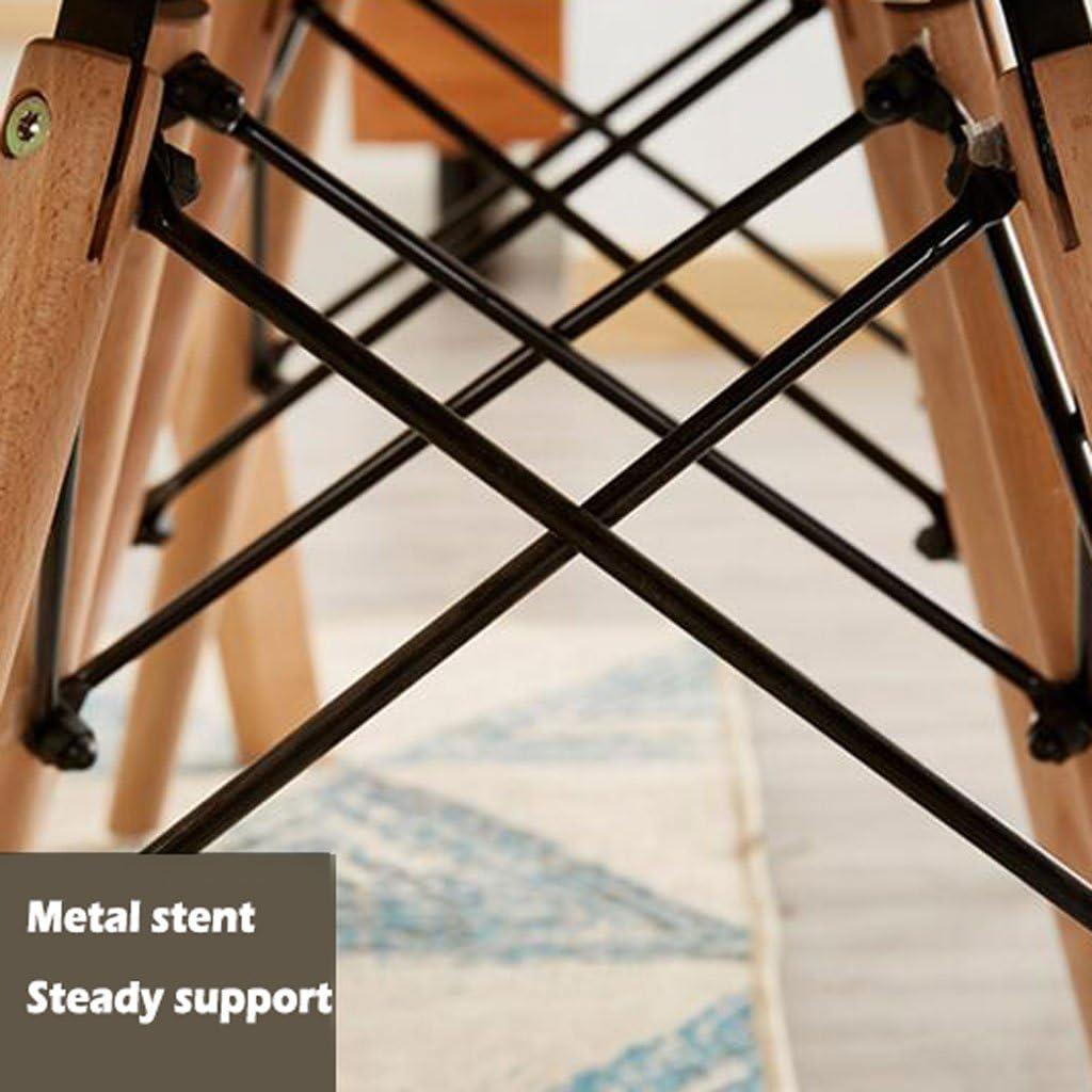 MAYAN Chaire Créativité Chaise D\'ordinateur Moderne Simple Étude Ménage Maquillage Tabouret Chaise De Salle À Manger Durabilité (Color : D) C