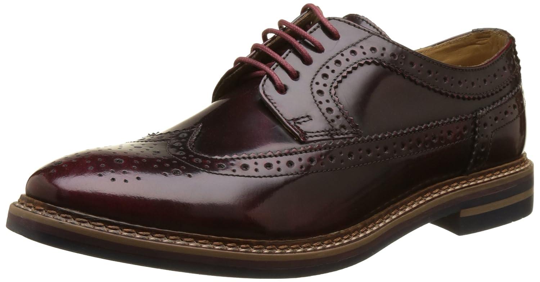 Base London Turner, Zapatos de Cordones Brogue para Hombre