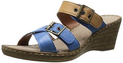 dcb460d1a Bella Vita Made in Italy Women s Modena Wedge Sandal
