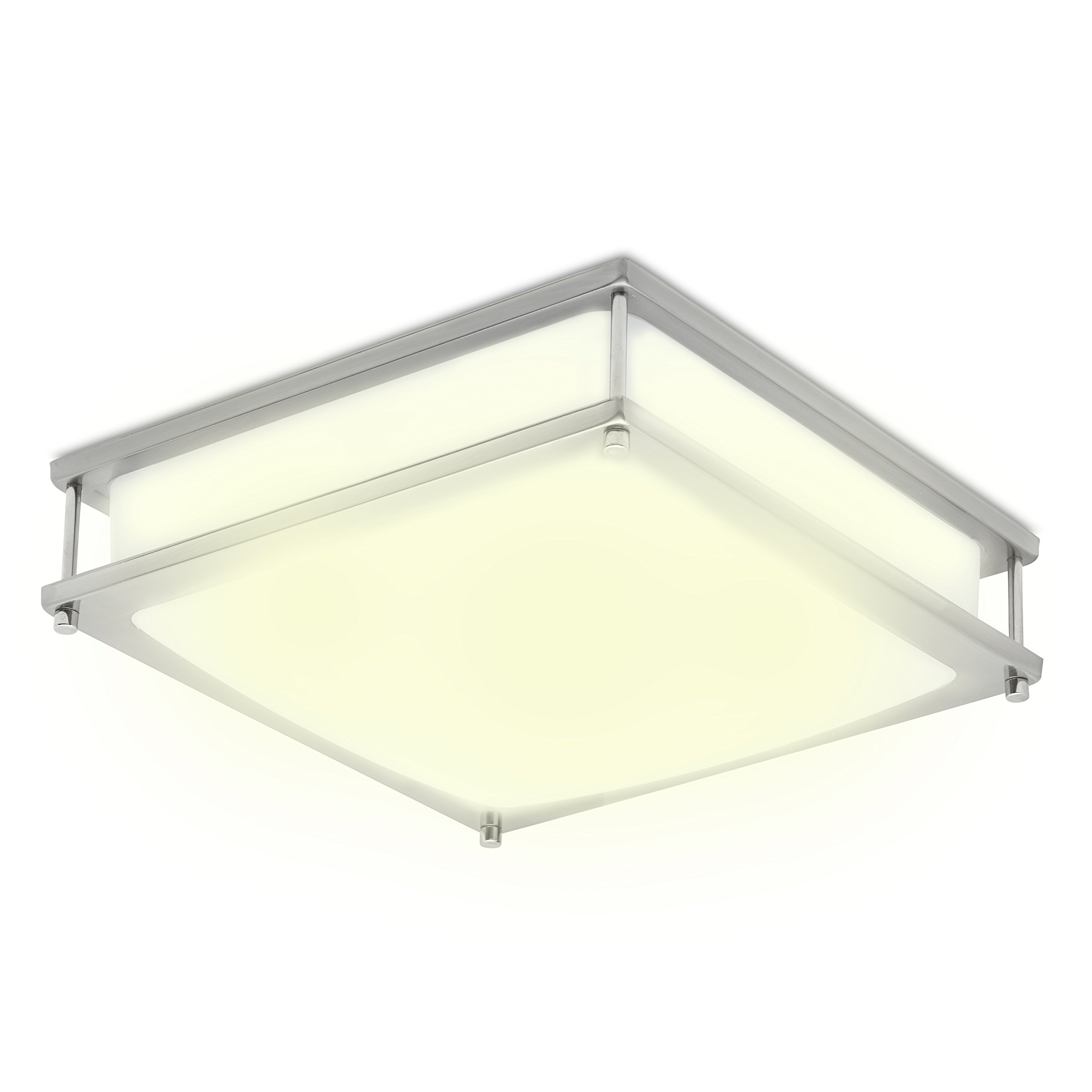 Green Beam Clarity 12 Inch Led Square Dimmable Ceiling
