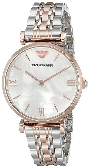 Emporio Armani Reloj Análogo clásico para Mujer de Cuarzo ...