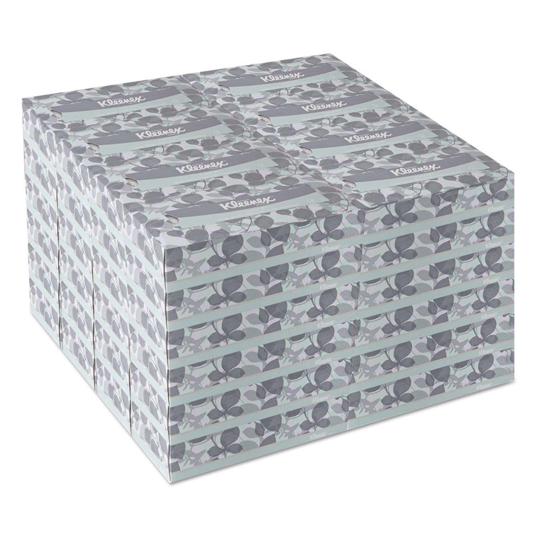 Kleenex 21601BX Naturals Facial Tissue, 2-Ply, White, 125/Box