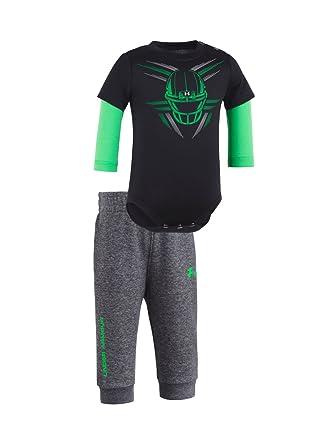 e917c07db Amazon.com  Under Armour Newborn Boys` Bodysuit and Pant Set  Clothing